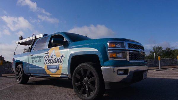 Reliant Plumbing Truck