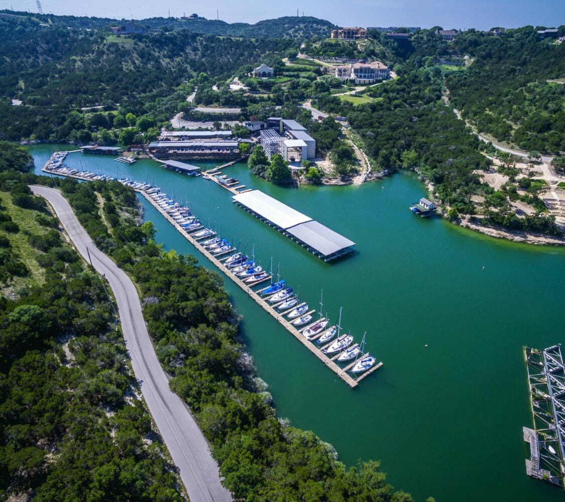 Homes on Lake Travis